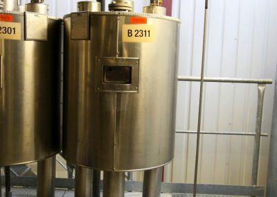 solvent separation vessel