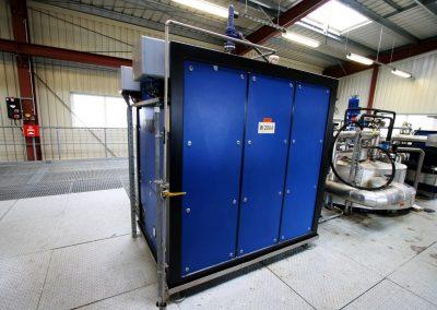 Heat transfer plant